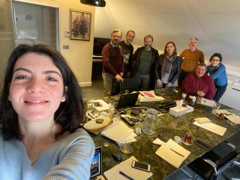 Bilimler Kolektifi yönetimi toplandı: İkinci Adım Toplantısı